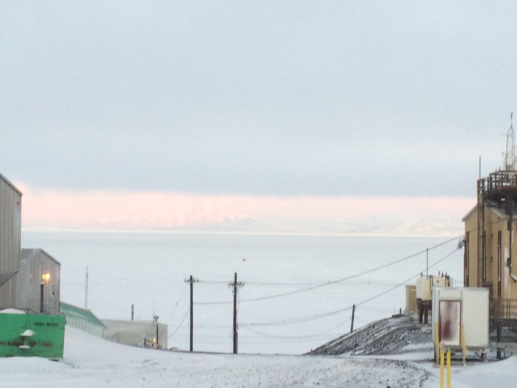 The sea ice is waiting for us!